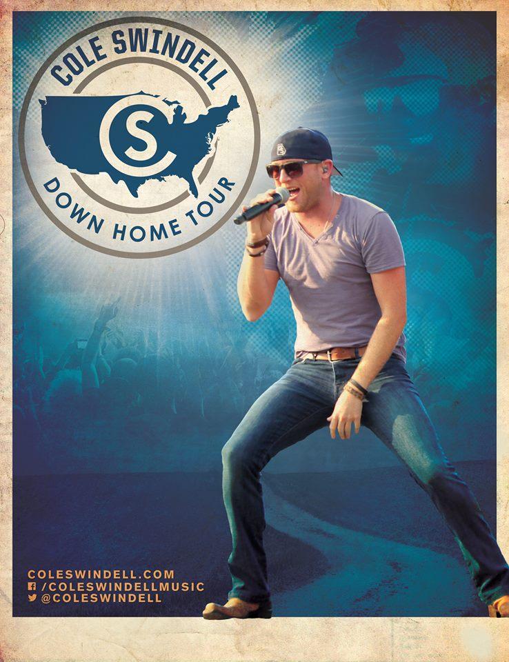 Cole Swindell Down Home Tour - CountryMusicRocks.net