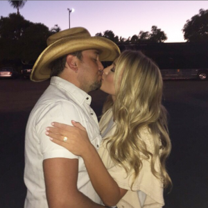 Jason Aldean Brittany Kerr Engaged Instagram - CountryMusicRocks.net