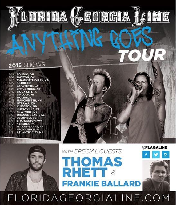 Florida Georgia Line Anything Goes Tour - CountryMusicRocks.net