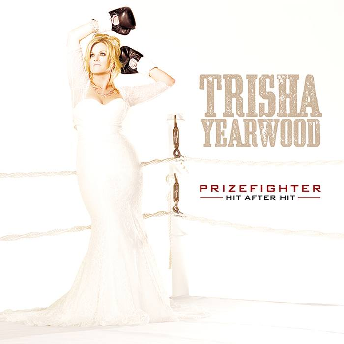 Trisha Yearwood PrizeFighter Album Cover - CountryMusicRocks.net