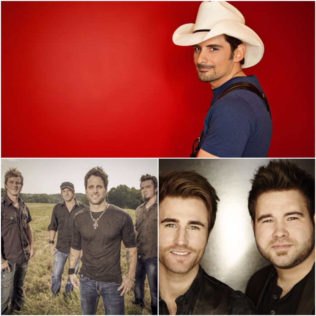 Brad Paisley Parmalee The Swon Brothers - CountryMusicRocks.net