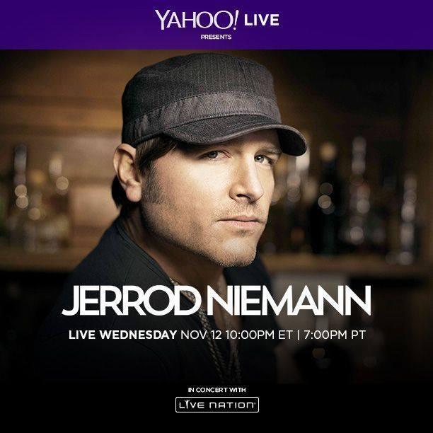 Jerrod Niemann Yahoo Live - CountryMusicRocks.net