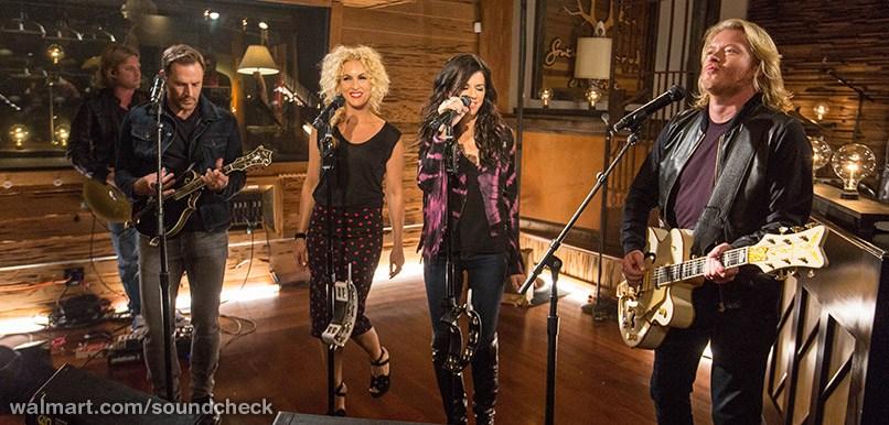 Little Big Town Walmart Soundcheck 2014 - CountryMusicRocks.net