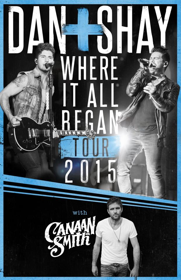 Dan and Shay Where It All Began Tour - CountryMusicRocks.net