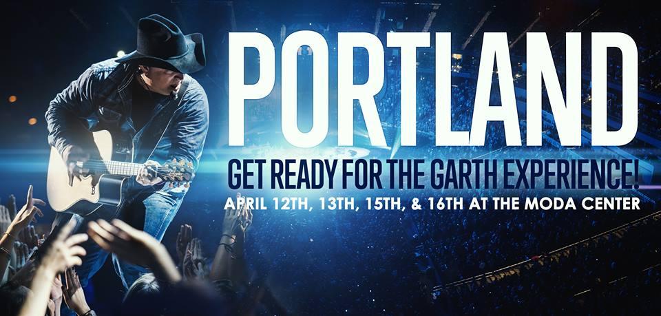 Garth Brooks Portland - CountryMusicRocks.net