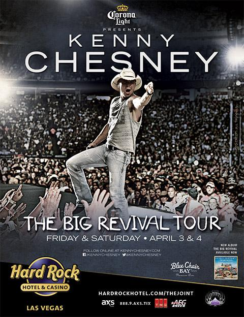 Kenny Chesney The Joint Las Vegas - CountryMusicRocks.net