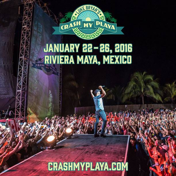 Luke Bryan Crash My Playa - CountryMusicRocks.net
