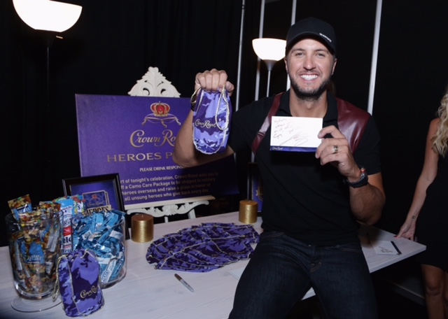 Country Music Artists Stuff Crown Royal CAMO Care Packages Backstage At The CMT Music Awards