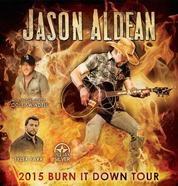 Jason Aldean 2015 Burn It Down Tour - CountryMusicRocks.net