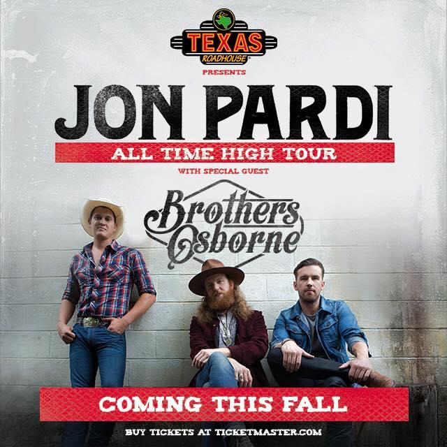 Jon Pardi All Time High Tour - CountryMusicRocks.net