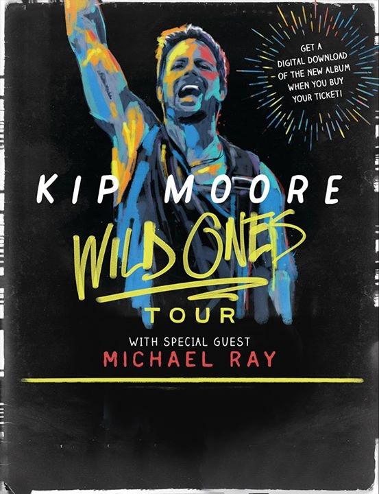 Kip Moore Wild Ones Tour - CountryMusicRocks.net