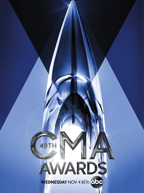 Logo for the 49th Annual CMA Awards