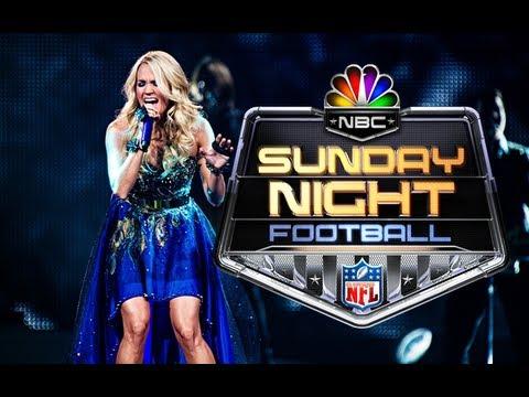 Carrie Underwood NFL Anthem - CountryMusicRocks.net
