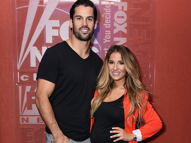 Eric Decker And Jesse James Visit FOX And Friends