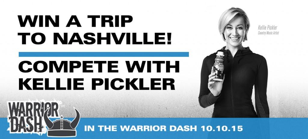 Kellie Pickler Warrior Dash - CountryMusicRocks.net