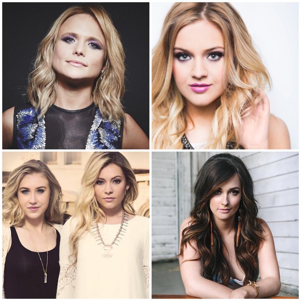 Miranda-Lambert-Kelsea-Ballerini-Maddie-Tae-Kacey-Musgraves - CountryMusicRocks.net
