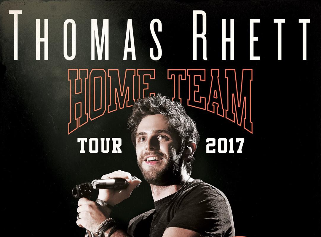 Thomas Rhett Home Team Tour
