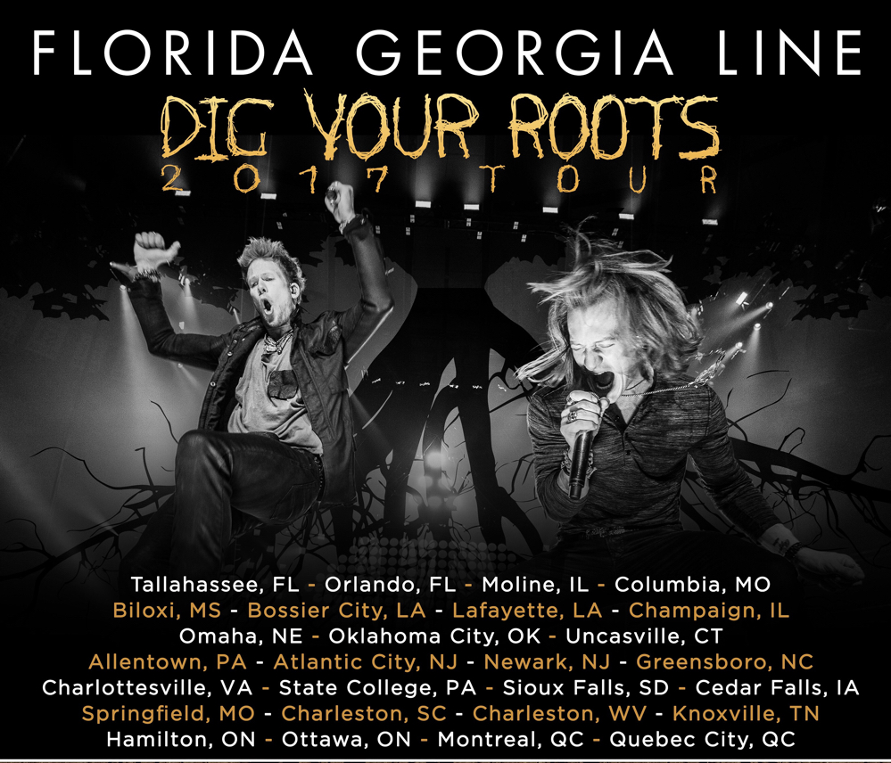 FGL Dig Your Roots Tour 2017