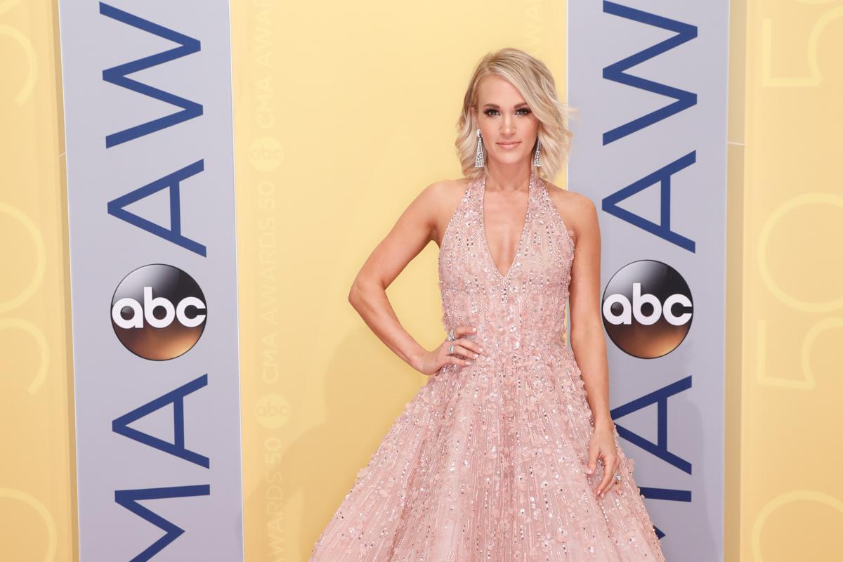 Carrie Underwood 50th Annual CMA Awards