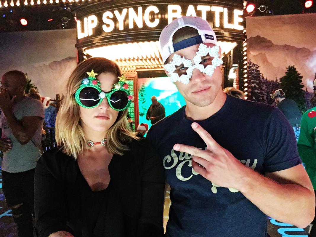 Cassadee Pope and Dustin Lynch Lip Sync Battle