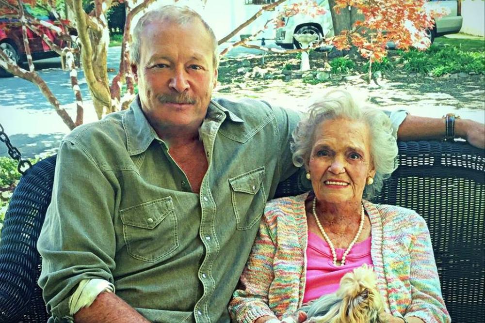 Alan Jackson and Mama Ruth