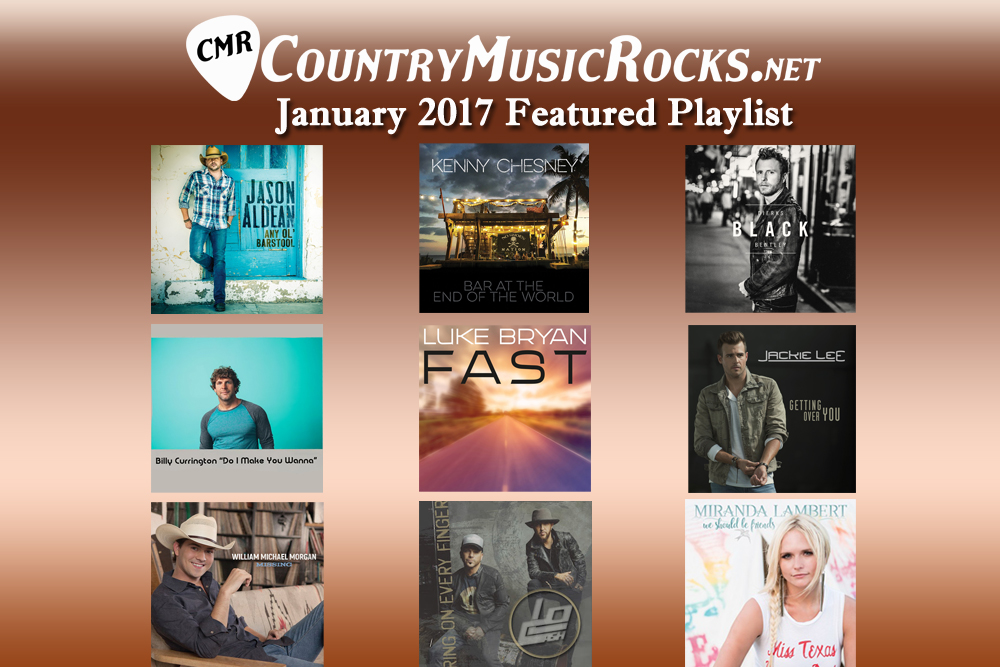 CMR Featured Playlist January 2017