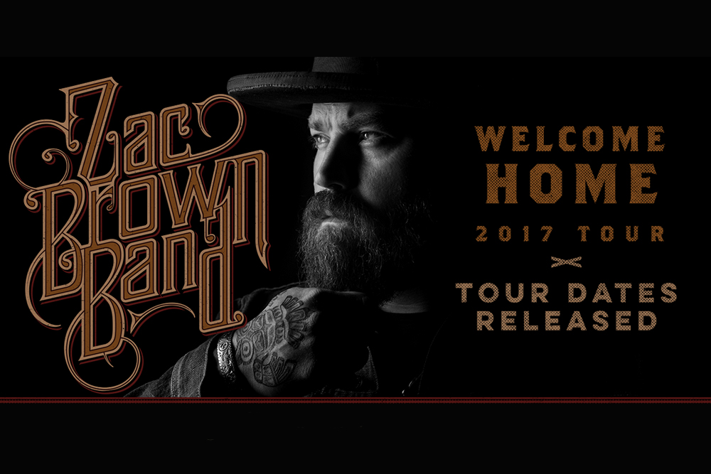 Zac Brown Band Welcome Home Tour