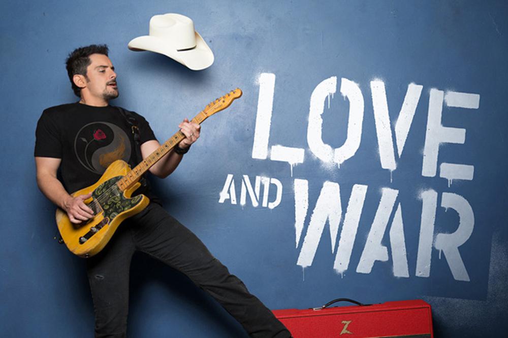 Brad Paisley Love and War Album