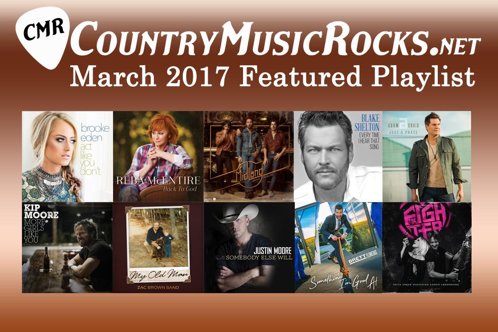 CMR Featured Playlist March 2017