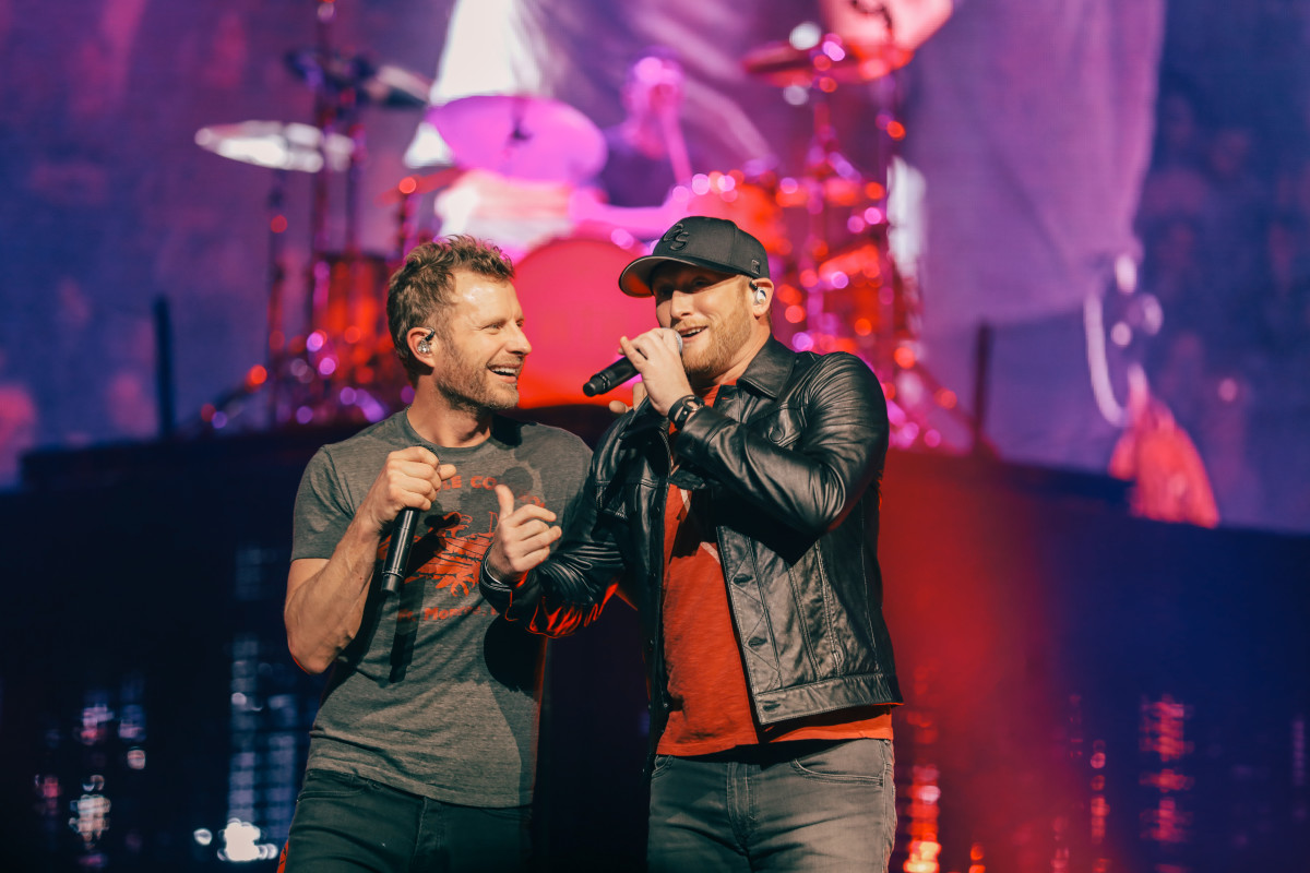 Cole Swindell Dierks Bentley Flatliner Performance