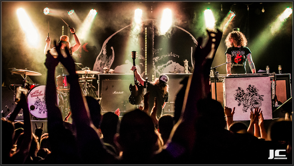 The Cadillac Three Concert