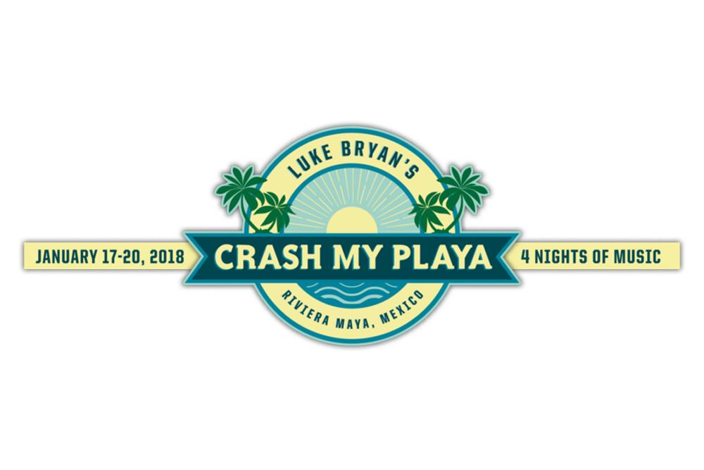 Luke Bryan Crash My Playa 2018