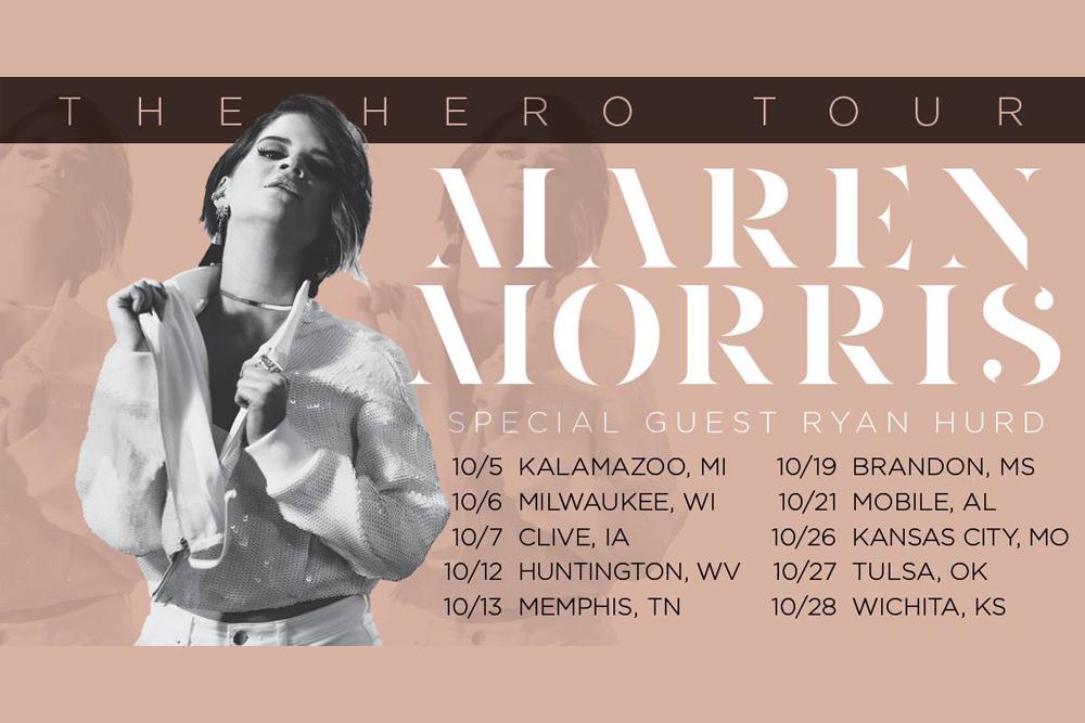 Maren Morris The Hero Tour