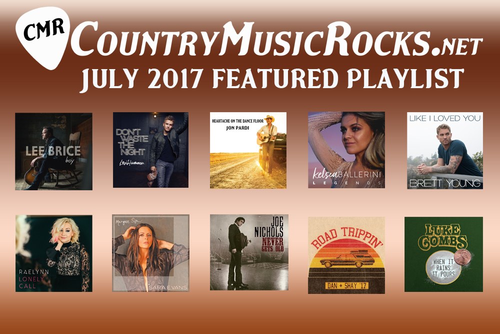 CMR Monthly Playlist July 2017