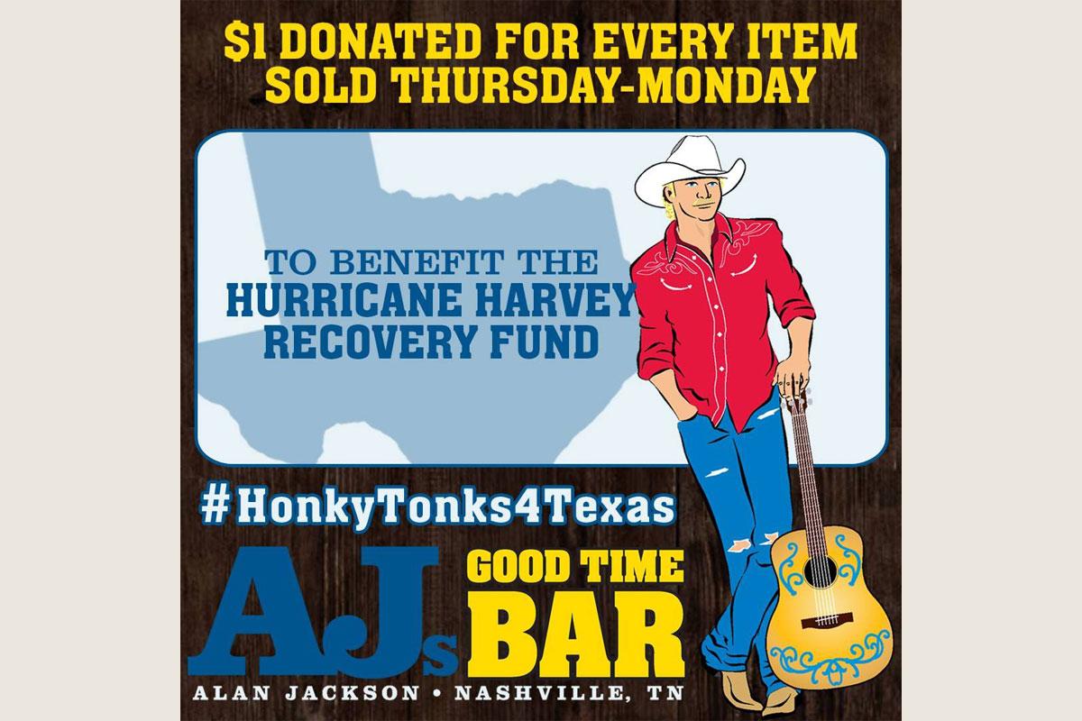 AJs Good Time Bar Hurricane Harvey Relief Fund