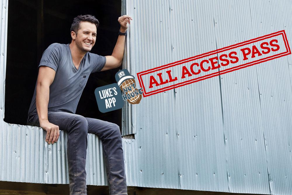 Luke Bryan App All Access Pass