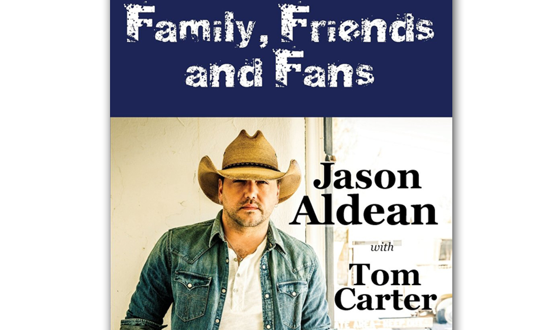Jason Aldean Book Family Friends and Fans