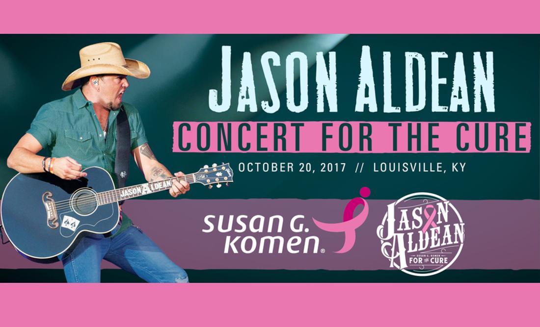 Jason Aldean Concert for the Cure