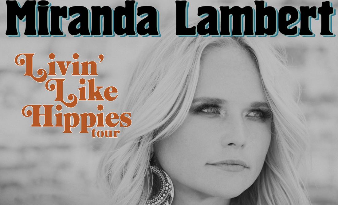 Miranda Lambert Livin' Like Hippies 2018 Tour