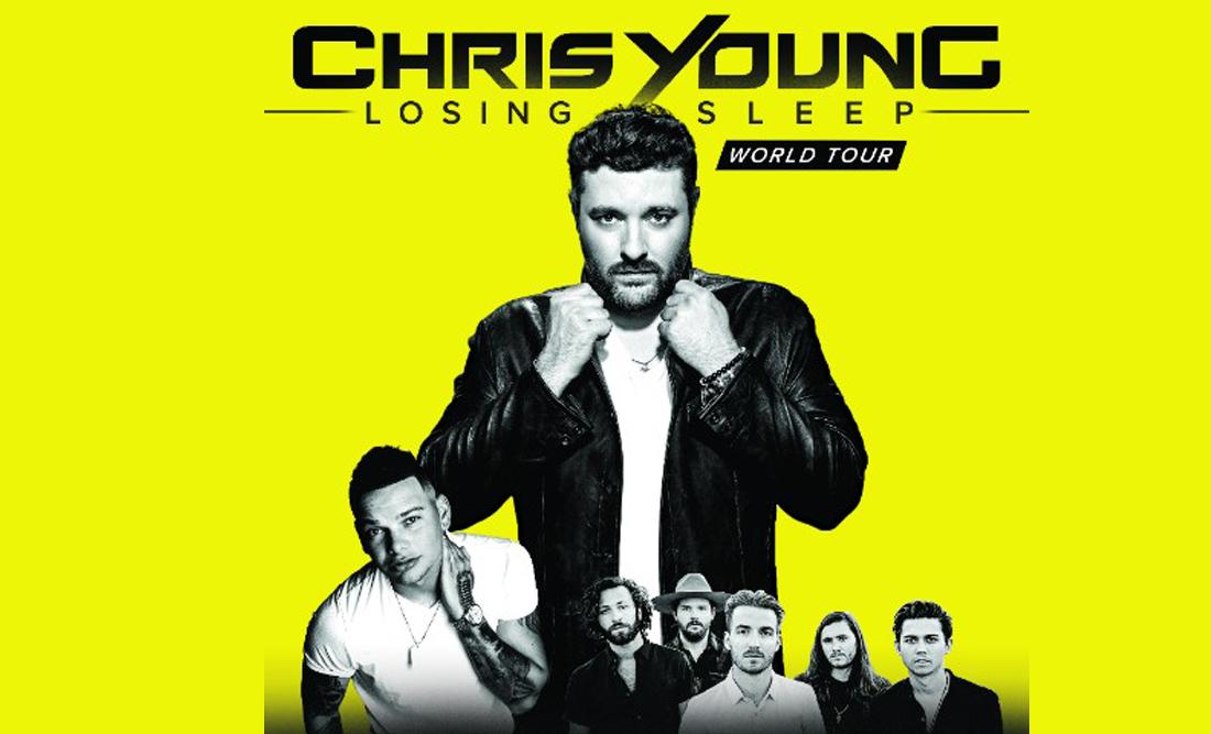 Chris Young Losing Sleep Tour