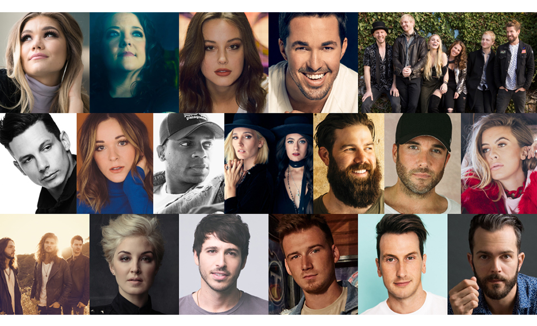 CMT Listen Up Artists 2018