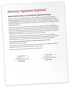 e-signatures explained