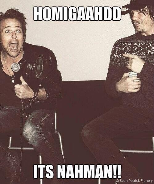 Norman Reedus and Sean Patrick Flanery are depraved