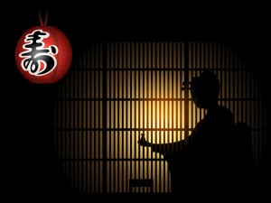 Geisha shadow