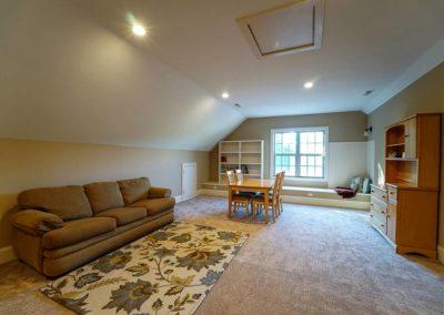 Attic Remodel Living Area