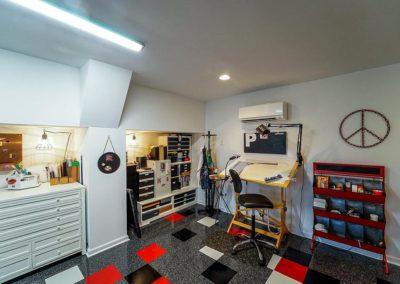 Attic Remodel Artist Studio