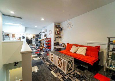 Attic Remodel Artist Studio with Sitting Area