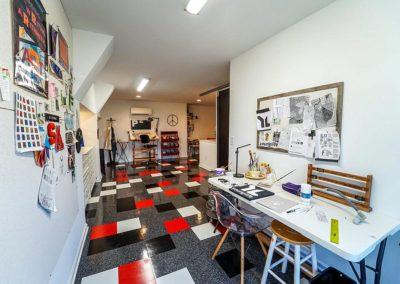 Attic Remodel Artist Studio Work Space