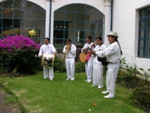 music group outside