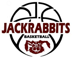 Bowie, Texas Jackrabbit basketball logo